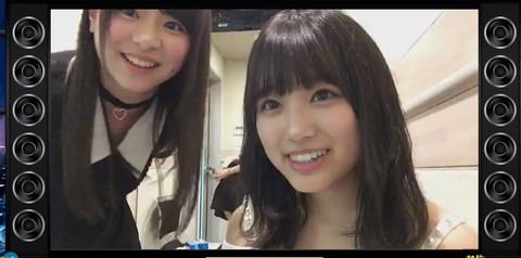 【朗報】矢吹奈子のSHOWROOMに元HKT3期研究生の倉野尾成美が登場!