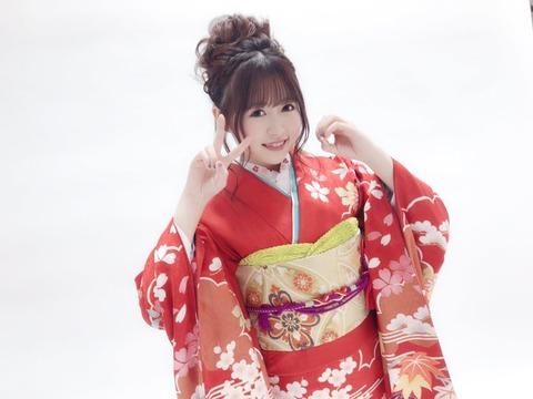【HKT48】冨吉明日香が神田明神にて成人式を迎える
