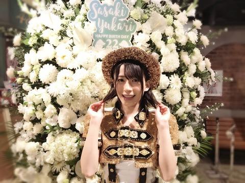 【AKB48G】三大ルックスはいいのにブレイクしないメンバーといえば佐々木優佳里、後藤萌咲
