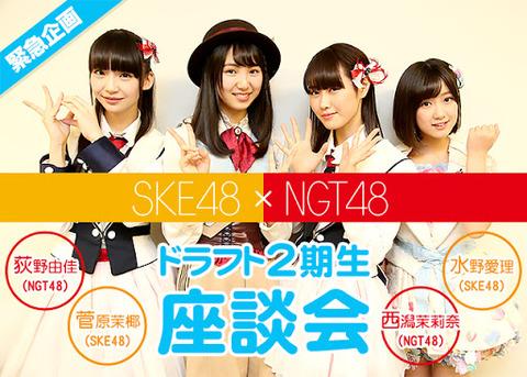 【嘆願スレ】SKE48とNGT48は「48」の看板を外して「AKB48グループ」から離脱して欲しい