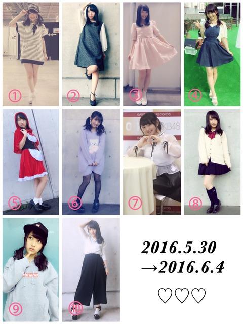 【AKB48】みーおんが私服総選挙を開催!!!【向井地美音】