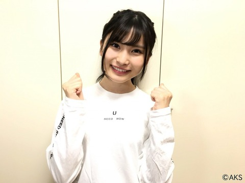 【AKB48】福岡聖菜の選抜総選挙公約