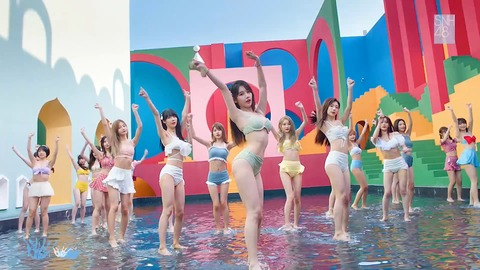 【衝撃】SNH48さん、2021年の水着MV解禁!なんでAKBは水着MVやらないの?