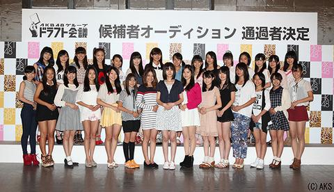 【AKB48G】ドラフト候補者のプロフィールが公開