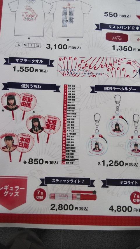 【NGT48】ドラフト3期ツナマヨこと對馬優菜子さんのうちわ最速完売