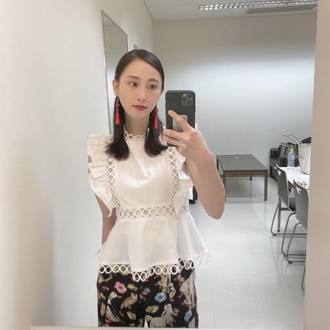 【Instagram】松井玲奈さんからご報告