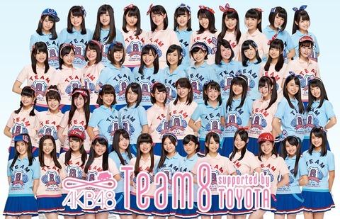 【AKB48】7月31日の名古屋全国握手会はチーム8のみ