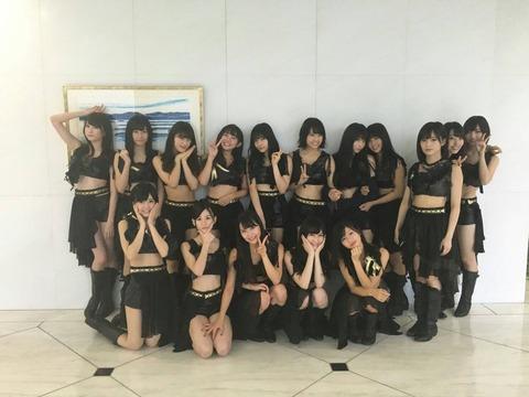 【NMB48】全員黒髪復活で「絶滅黒髪少女」を披露!!!【Mステ】
