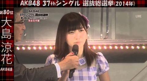 【AKB48総選挙】81位以下の票数も後日発表して欲しい