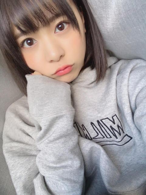 【AKB48】倉野尾成美が女から嫌われそうなあざとすぎる画像上げてるwww