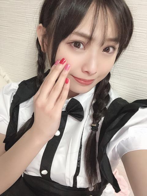 【NMB48】メイドコスプレの梅山恋和ちゃん「ごはんにする?お風呂にする?それともワイ?」【動画】