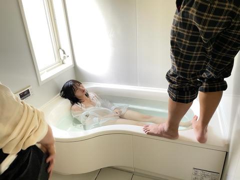 【NMB48】コラー!まりんちゃん、洗面台で体洗ったら御行儀悪いでしょ【菖蒲まりん】