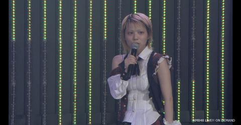 【悲報】NMB48木下百花、公演MCでドラフト2期生を泣かす・・・