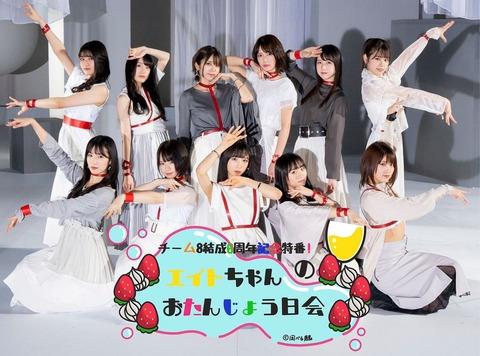 【AKB48】チーム8メンバーの最新身長データ2020年版