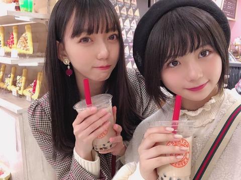 【SKE48】美少女コンビが仲良く遊びに行く!【小畑優奈・野島樺乃】