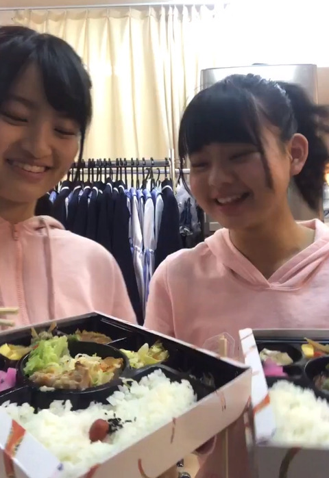 【朗報】AKB48チーム8公演、メンバーのお弁当が豪華!!!