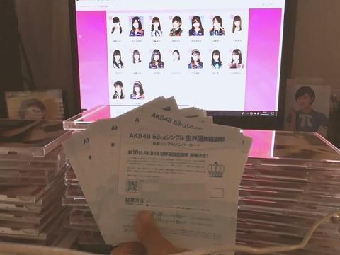 【AKB48総選挙】金持ってる奴はいいけど生活費削ってまで投票してる奴は人生それでいいのか?