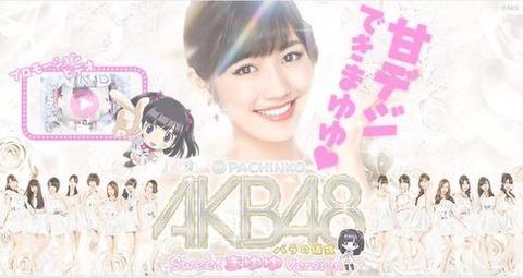 【朗報】ぱちんこAKB48~SweetまゆゆVersion~「甘デジできまゆゆ」