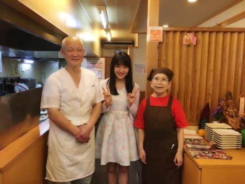 【HKT48】田島芽瑠、天ぷら屋さんのおばちゃんを公開処刑!