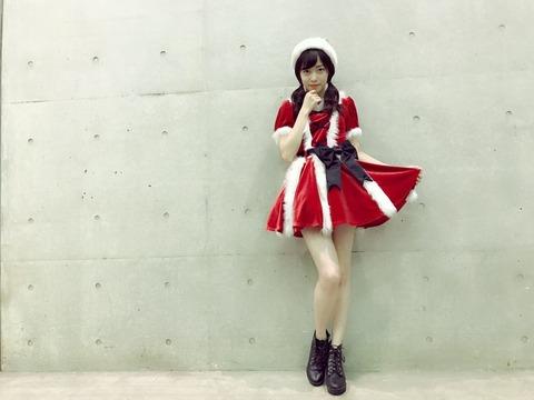 【NMB48】サンタコスのあんちゅがめっちゃスタイル良い!!!【石塚朱莉】