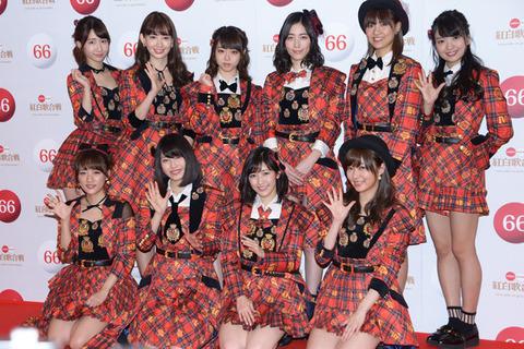 【AKB48】紅白のメドレーは「会いたかった~フラゲ~ヘビロテ~恋チュン」に決定