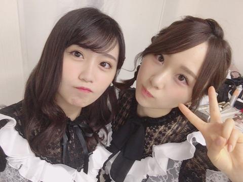 【AKB48】何か3周半ぐらい回って、こじまこが好きになってきた【小嶋真子】