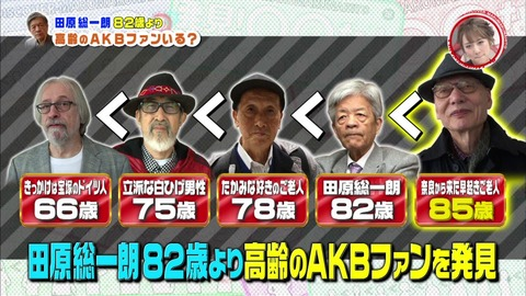 【AKB48】85歳の峯岸ヲタwwwwww【峯岸みなみ】