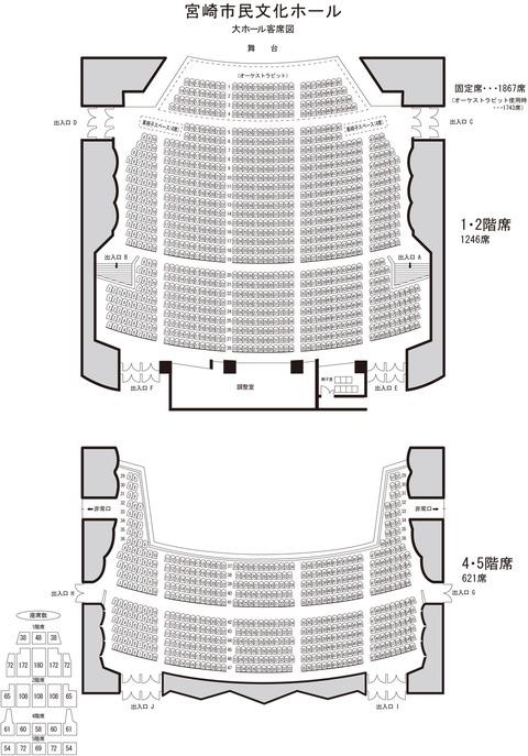 SKE48の宮崎でのコンサート、2階席は使用しなかったけど熱かった