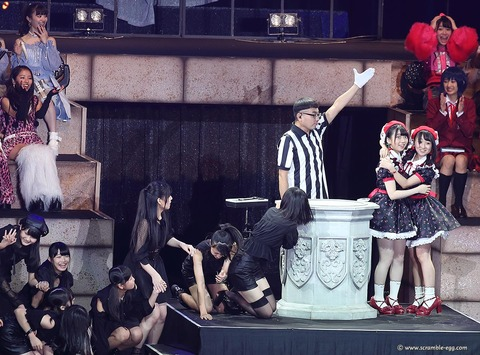 【AKB48Gじゃんけん大会】優勝決定した瞬間の写真が素晴らしい