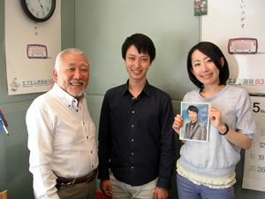 小川たけるFM世田谷画像