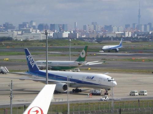 羽田空港国際線ターミナル展望デッキスカイツリー