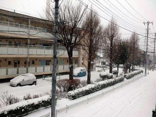 関東甲信越大雪201402081
