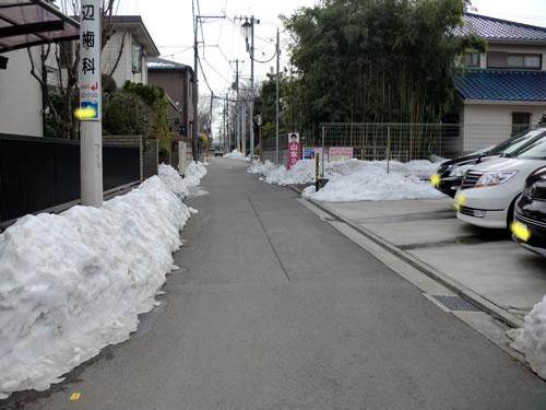 関東甲信越大雪201402193