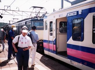 横川駅ホリデー快速軽井沢号写真1