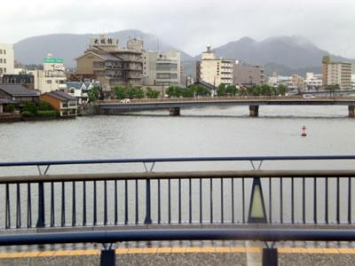 11台風12号松江市内
