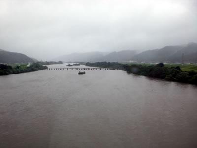 11台風12号斐伊川