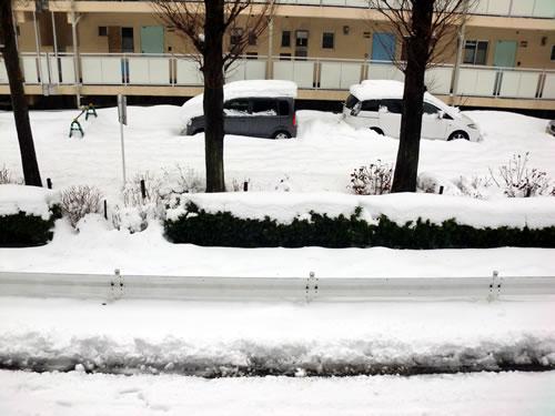 関東甲信越大雪201402152