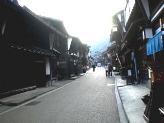 奈良井街並2