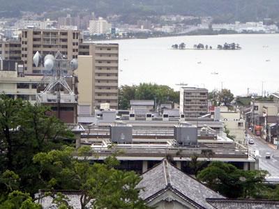 11台風12号宍道湖4