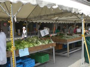 立川市農産物直売所写真