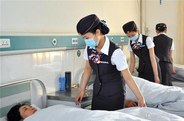 中国中華人民共和国病院医療病気内部写真看護師ナースCA客室乗務員かわいい萌えコスプレ真実