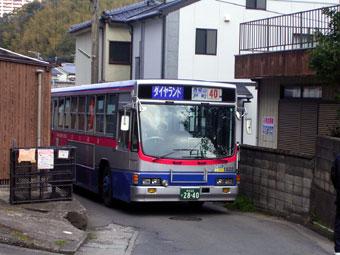 長崎市内の道2