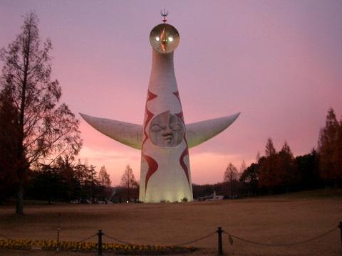 吹田市の太陽の塔