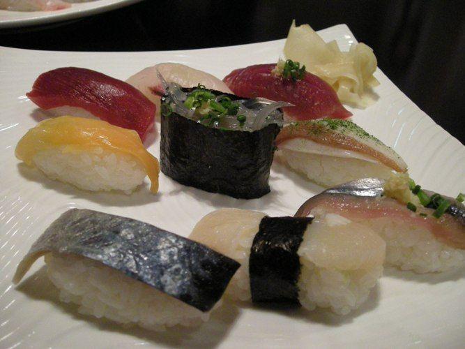 ツーリング 寿司