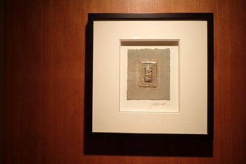 廊下のアート