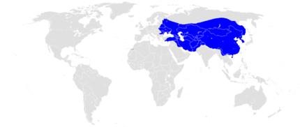 モンゴル帝国最大勢力図