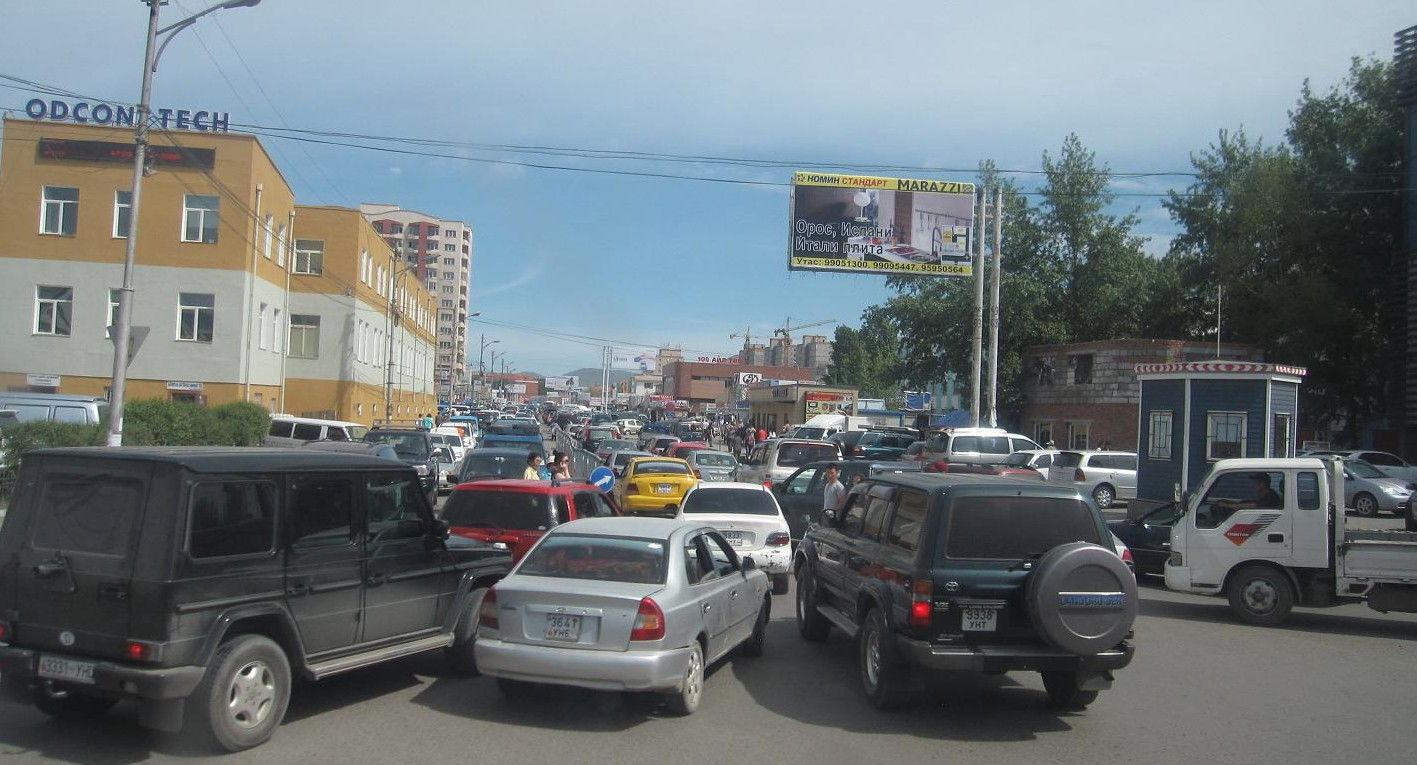 道路渋滞状況