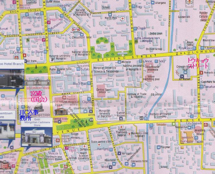 東京ストリート地図