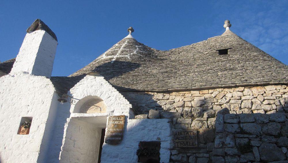 写真4 トゥルッリの最頂部