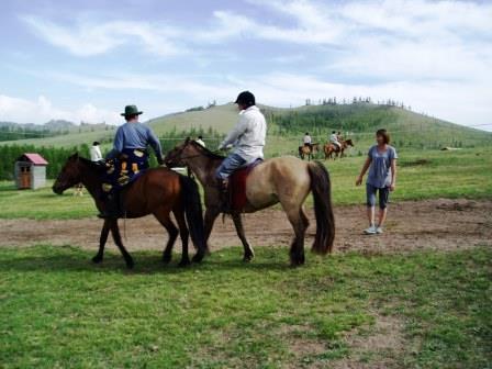 乗馬の親父と奥さん60